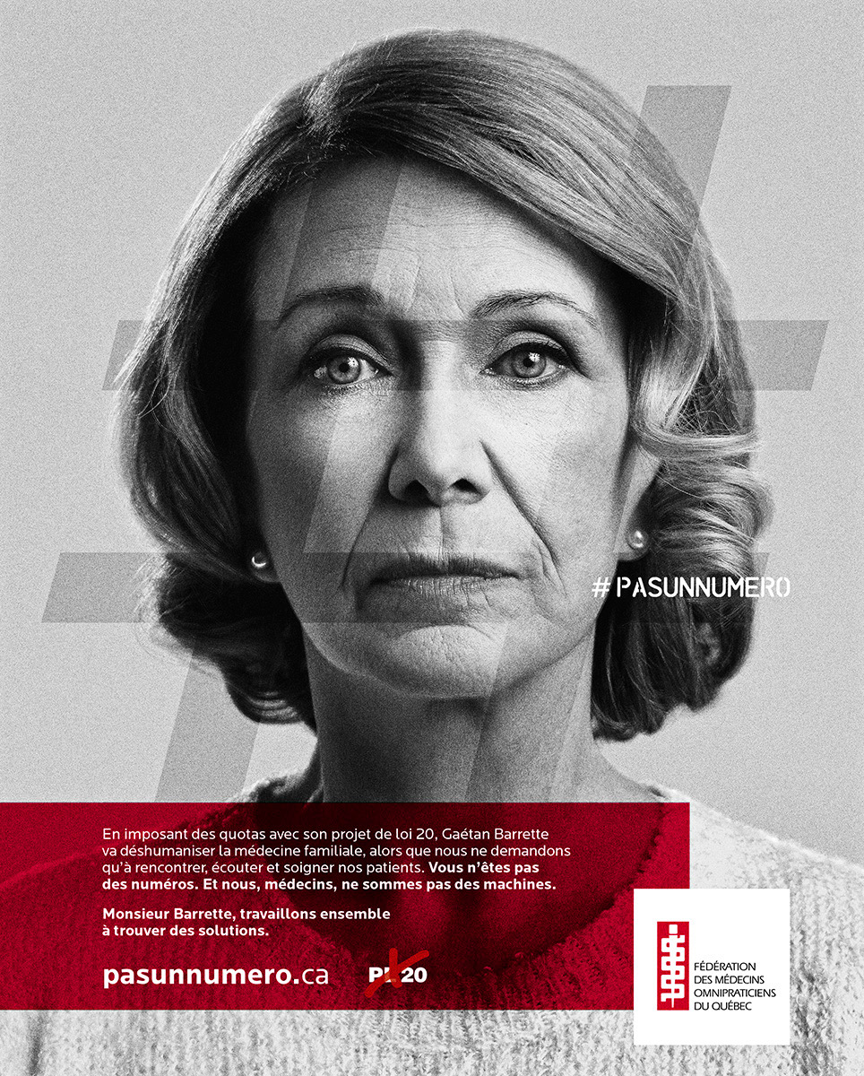 poster older woman by Jocelyn Michel for FMOQ