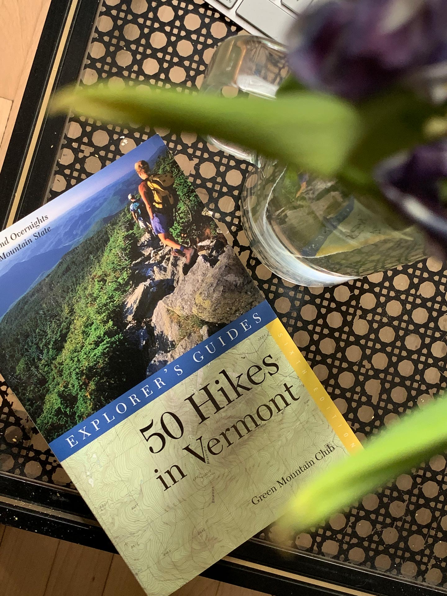 book 50 hikes in vermont by explorer's guide
