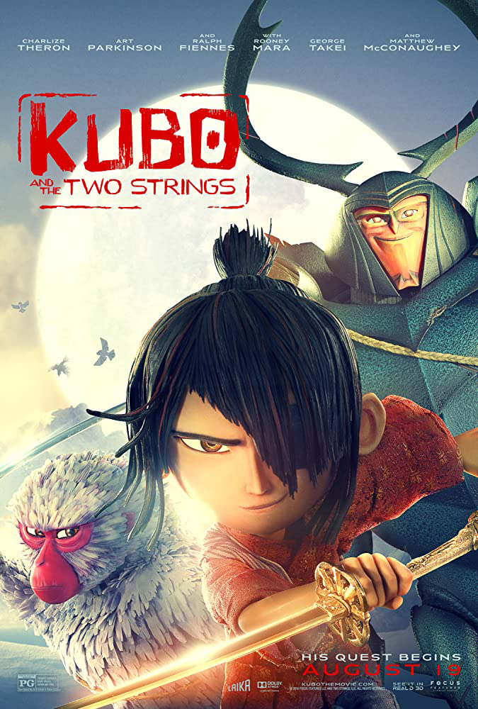 Kubo and the Two Strings movie poster
